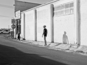 Inessa Waits Near South 9th Street, Modesto, CA (Katy Grannan, 2012)
