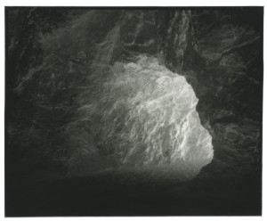 """""""Cave"""", 2013, from Glass Mountains Silver Gelatin Print, 5x4"""""""