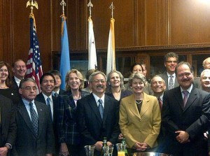 UNESCO Director-General Irina Bokova at SF City Hall.