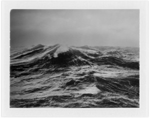"""Sea"", 2007-2008, from Pictures of the Earth Diffusion Transfer Print, 4.25 x 3.25"""