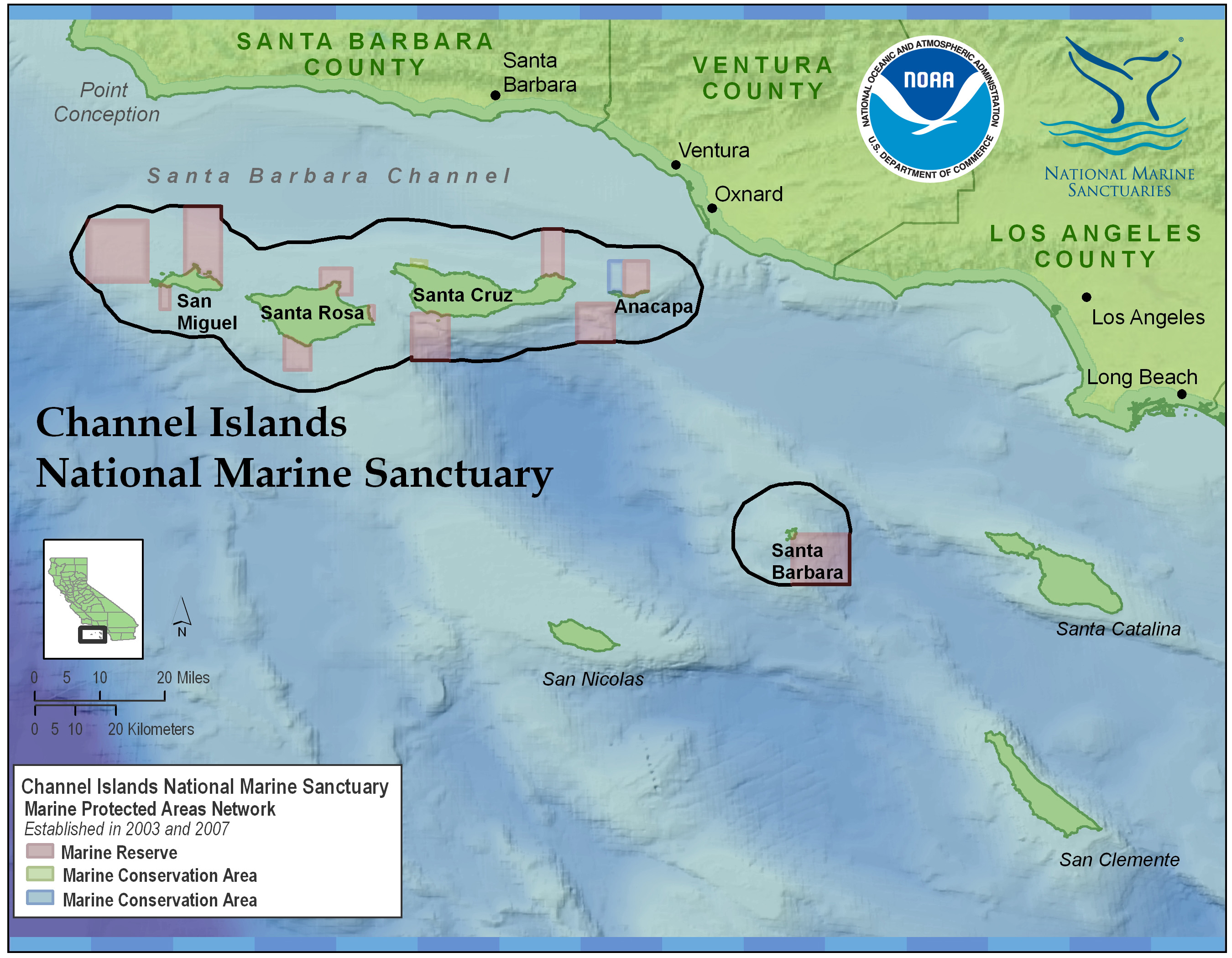 Channel Islands Ca Map Channel Islands Return: Documenting Effectiveness of California's